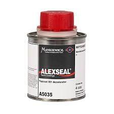 Alexseal topcoat accelerator 501, 4 ounce