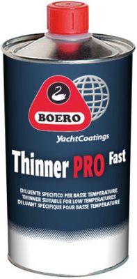 Boero Thinner Pro Fast, voor polyurethaan verven, 1 liter