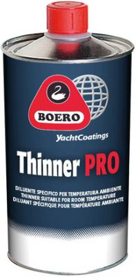 Boero Thinner Pro, voor polyurethaan verven, 1 liter