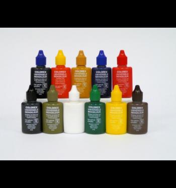 Colorex verfpigment Zwart, 22 ml