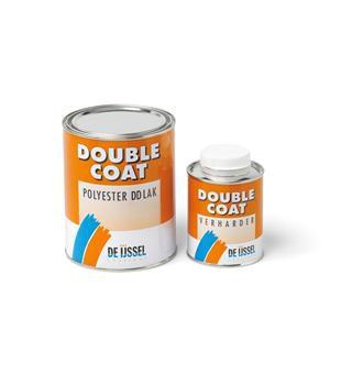 De IJssel Double Coat DD lak,  RAL1013 parel wit, 1 kg