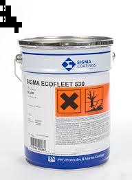 Sigma Ecofleet 530 antifouling, roodbruin, 20 liter (export of beroepsvaart)