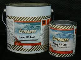 Epifanes HB Epoxy Coating, zwart, set 4 liter