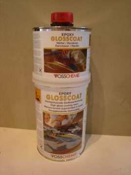 Epoxyhars Glosscoat RV-UV, A  B component, 15,4 kg verpakking