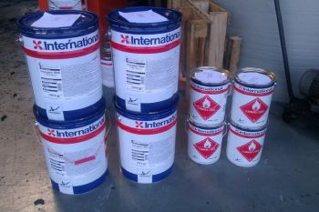 International Interguard 7600 Grey Aluminium, 20 liter set
