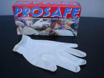 Latex handschoen ,medium,  100 per doos