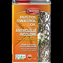 Rustol Owatrol  olie, puur,  0,5 liter