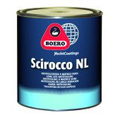 Boero Scirocco NL antifouling, 5 liter  Grey