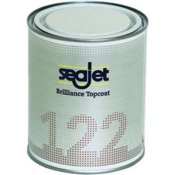 Seajet 122 Aflak Brilliance Glosskeeper Topcoat,  2,5 liter, oester wit