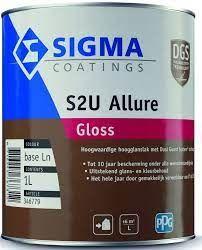 Sigma S2U Allure Gloss,  1 liter