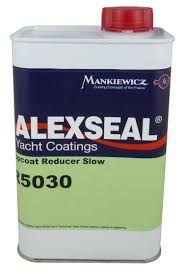 Alexseal Topcoat reducer, slow, R5030, quart (0,98 liter)