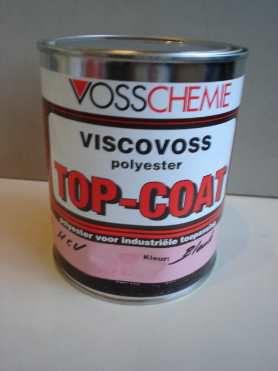 Topcoat, wit, 1 kg verpakking (excl. 20 mg harder)
