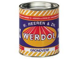 Werdol Grondverf Zwart,  750 ml