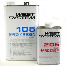 West System Epoxyhars 105ᶪ� 206 Slow, set 30 kg